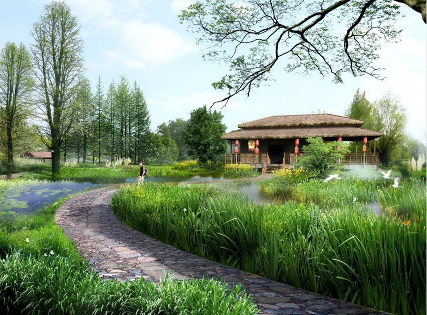 抚州三江湿地生态修复工程