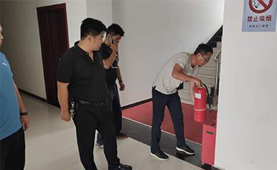 商丘六污组织开展安全生产检查